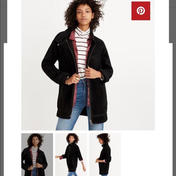 Madewell Jackets Coats Sherpa Coat Poshmark